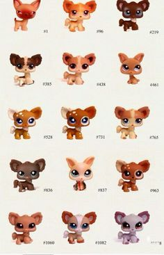 49 Best Littlest Pet Shop Photos With Pet Numbers Images Littlest