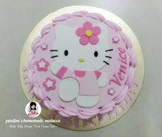 Hello Kitty Design Fresh Cream Cake