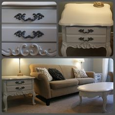 Simply Chic Decor:Refinished furniture