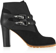 See by Chloe Nubuck ankle boots on shopstyle.com