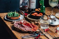 This month dine for £12 at Rioja. The offer includes 3 Tapas + Wine and is available from Monday to Friday and on Sundays.   Featuring prawns cooked in garlic and chilli, paella, tortilla and deep-fried squid, Rioja Finnieston has all the traditional tapas dishes that diners have come to love. More adventurous customers may want to mix them up with choices from the modern tapas selection.