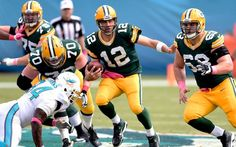 The Dolphins are having some problems when it comes to tackling Aaron Rodgers. (USATSI)
