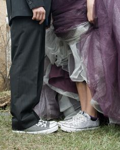 Cutest prom picture ever! I want my picture like this but with Vans (: