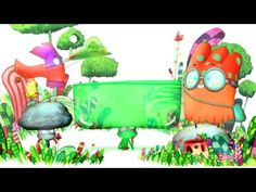 """Cute animation with colourful characters and wonderful textures: """"Moutcho and Pitrouille"""" by Cedric Slippers."""