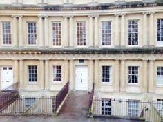 One of Jane Austen's homes in Bath.