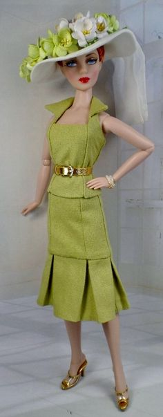 Willow for Gene Marshall and her friends 16 inch fashion dolls OOAK Fashion Plus Pattern - Pinned 8-14-2015.