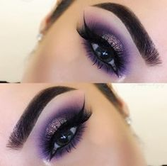 Love yourself and express yourself with makeup 💜👀 @_sgbeautyy achieved our idea of purple perfection using the 35B palette and some fluffy lashes. www.morphebrushes.com #TeamMorphe