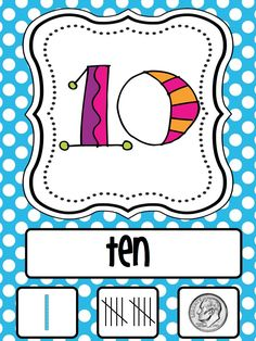 A day in first grade: Manic Monday Freebie-- Number Cards to twenty! by joanna First Grade Classroom, 1st Grade Math, Math Classroom, Classroom Ideas, Classroom Organization, Future Classroom, Classroom Posters, Classroom Design, Grade 1