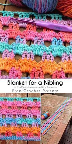 Perforated Wrap Shawl Free Crochet Pattern #crochetstitch