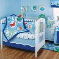 Kids Line 6 Pc. Crib Set - Calypso