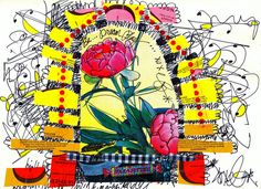 Elizabeth Bunsen - Lots of beautiful journal pages at this link