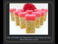 Hot Process Extreme - 10-Minute Stick Blender Soap METHOD - Cutting Amazingly Graceful and Tall Soap
