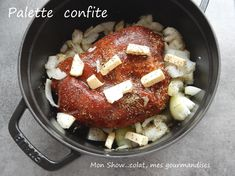 Si je vous dis que malgré 3h30 de cuisson, vous n'avez pratiquement rien à faire pour cette recette de viande hyper fondante. Je vous dirais même plus, il y a encore moins à faire que si vous utilisiez un robot cuiseur ! Tout se passe dans le four. J'ai...
