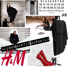 """Maison Martin Margiela with H"" by betikartika on Polyvore"