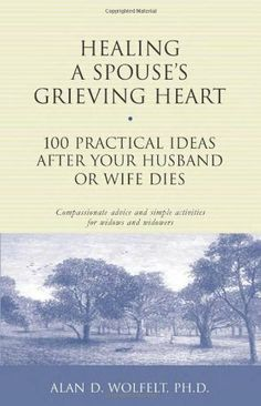 Healing a Spouse's Grieving Heart: 100 Practical Ideas After Your Husband or Wife Dies (Healing Your Grieving Heart series) by Alan D. Wolfelt PhD.  I had a hard time concentrating in the first month and this format was perfect for me. Four months later I still use it & find it comforting along with some of his other books.
