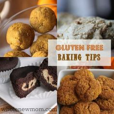 Wondering how to make your gluten-free baked goods turn out well? Baking with Gluten-Free Flours can be tough. These 9 Gluten Free Baking Tips make it easier for your gluten-free baking to turn out right!