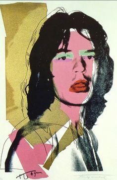 Nei Settanta la star del #rock era #MickJagger! Fate come #Warhol, rivisitate le immagini dei vostri divi e taggatele #AndyGoesToPisa #popart #AndyWarhol