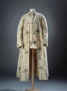 Robe de chambre et gilet | Paris Musées, 1750-1775