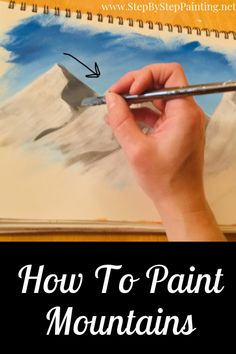 Acrylic Painting Techniques – Step by Step Painting – Trend Art ideas on World Acrylic Painting For Beginners, Simple Acrylic Paintings, Acrylic Painting Techniques, Step By Step Painting, Beginner Painting, Painting Videos, Painting & Drawing, Watercolor Paintings, Painting Canvas