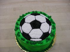 Soccer Cake — Futball more at Recipins.com