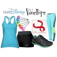 """""""Vanellope Running Outfit"""" by mamaspartydress on Polyvore"""