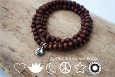 Wrap Bracelet, Wood Beaded Bracelet, Boho Jewelry,…