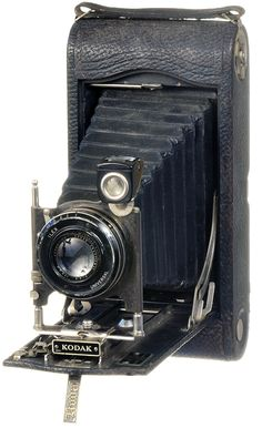 Camera Collection: 3A Autographic Kodak Camera Circa 1921