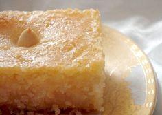 Algerian Basboussa - Semolina Cake With Syrup Recipe - Food.com