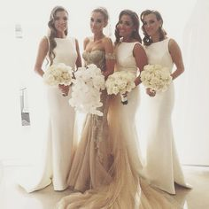 If and when I ever, my bridesmaids will all wear white and this is the exact dress! Hope I can find it in 2030 lol