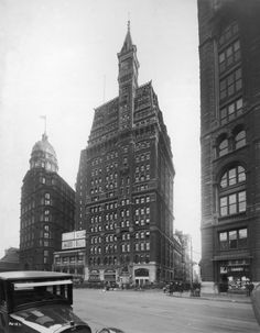 Headquarters To The Late Newspaper Empire Bearing Its Name, The New York  Tribune Building Was