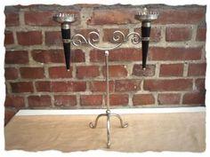 Candle Holder for 2 Candles - 2er Kerzenhalter