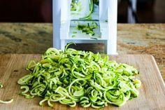 Spiralizing, Slow Cooker Summer Dinners, Diet Soda, and Other Things I'm Thinking About  (7-16-2015) [from KalynsKitchen.com]