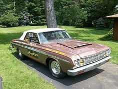 Plymouth : Fury Race Car 1964 Plymouth Sport Fury Convertible Race Car- 512 Keith Black Block w/trailer - http://www.legendaryfind.com/carsforsale/plymouth-fury-race-car-1964-plymouth-sport-fury-convertible-race-car-512-keith-black-block-wtrailer/