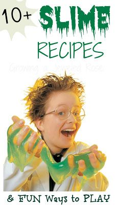 10+  Slime Recipes  - Pinned by @PediaStaff – Please Visit ht.ly/63sNtfor all our pediatric therapy pins