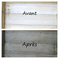 vieillir le bois de palette, comment vieillir le bois, teinture pour vieillir le bois, vieillir le bois à moindre coût