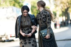 Paris Fashion Week's best street style