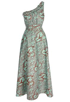 Image of Mint and Chocolate Chloe Maxi Dress