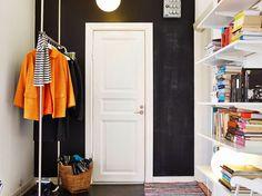 Un pequeño apartamento divertido y con toques de color #hogarhabitissimo