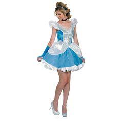 Deluxe Sexy Cinderella Adult Women's Costume - OrientalTrading.com