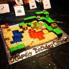 Minecraft Birthday cake v2.0