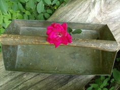 Vintage Shabby Chic Garden Caddy Tool Box by TymelessTrinkets, $32.00