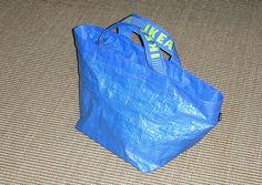 my ikea re-bag #accorgitene #ikea #recycling #bag