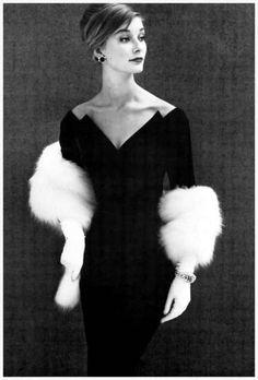 Model Actress Tania Mallet, photo by John French, 1960.