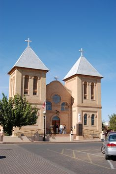 Old Mesilla, NM, church in the plaza where my parents got married!