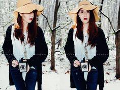 #photography #oldfashion #camera #snow #woods