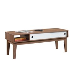 Sauder Inspired Accents Coffee Table, Brown