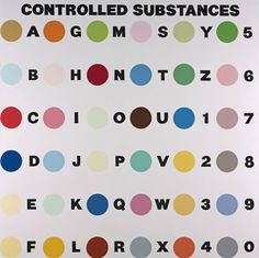 controlled substances - damien hirst