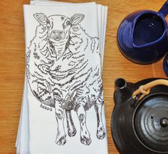 Set of 4 Kitchen Napkins Eco Friendly Cotton  $24  Click Here:  https://www.etsy.com/listing/191419138/set-of-4-kitchen-napkins-eco-friendly?utm_source=Pinterest&utm_medium=PageTools&utm_campaign=Share