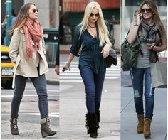Flat boots how to wear