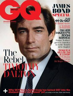 #Skyfall - GQ celebra i James Bond della storia - Timothy Dalton